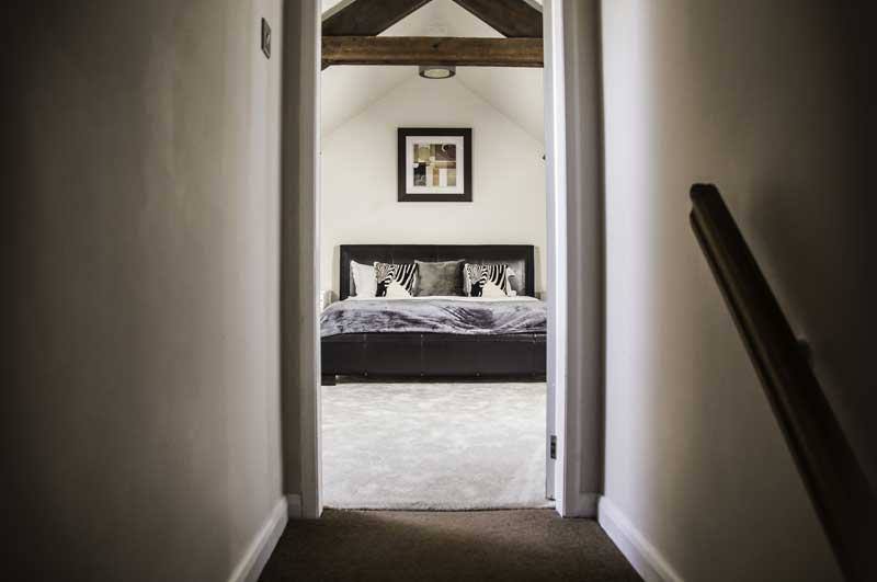 The Old Granary master bedroom